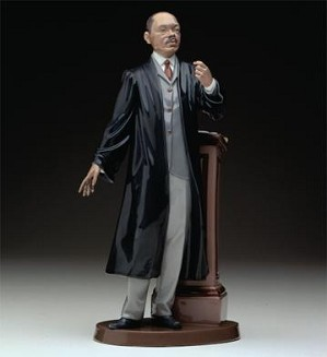 Lladro Black Legacy-Sunday Sermon 1993-03