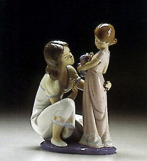 Lladro-A Mothers Touch 1993-96