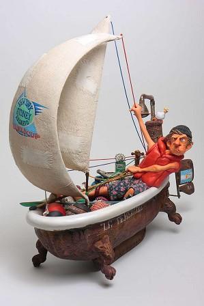 Guillermo Forchino-Ship Ahoy - Navire En Vue