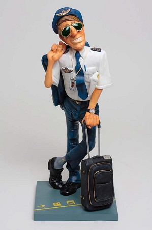 Guillermo Forchino-The Pilot