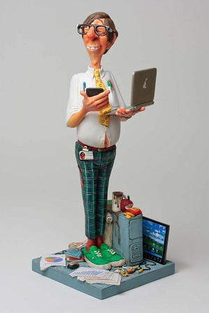 Guillermo Forchino-The Computer Expert 1/2 Scale