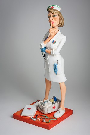 Guillermo Forchino-The Nurse / L'Infirmiere 1/2 Scale