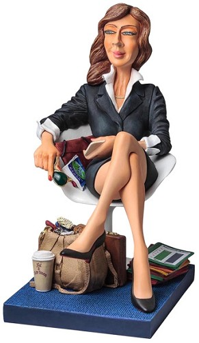 Guillermo Forchino-The Businesswoman