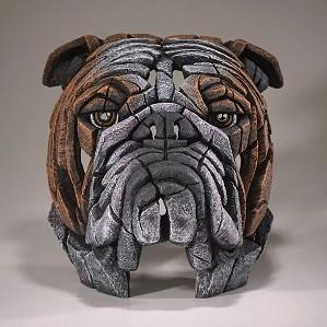 Enesco EDGE-Bull Dog Bust