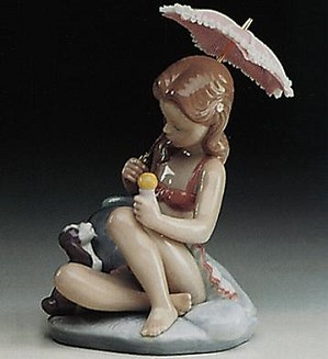 Lladro-Monday's Child (girl) 1993-97