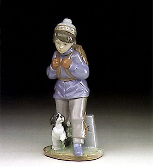 Lladro-Thursday's Child (boy) 1993-97