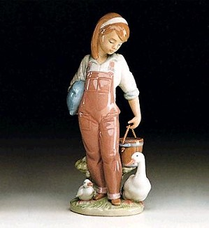 Lladro-Saturday's Child (girl) 1993-97