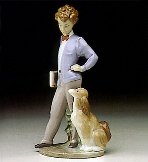 Lladro-Sunday's Child (boy) 1993-97