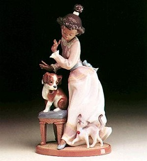 Lladro Black Legacy-My Turn