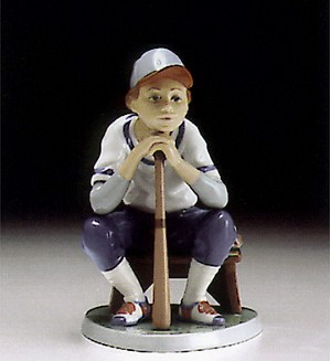 Lladro-Baseball Player 1994-97