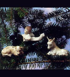 Lladro-Nativity Trio ~ 3 Piece 1993 Only