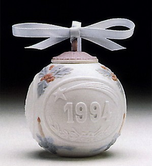 Lladro-Christmas Ball 1994 Ornament