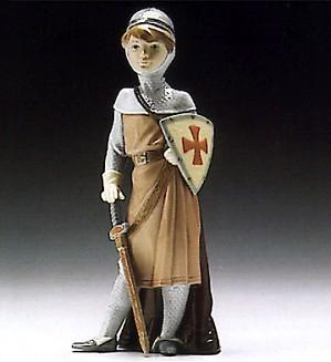 Lladro-Medieval Soldier 1994-96
