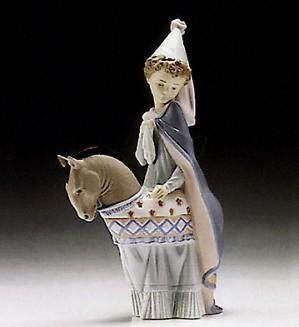 Lladro-Medieval Princess 1994-96 ***