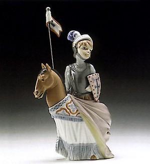 Lladro-Medieval Prince 1994-96 ***