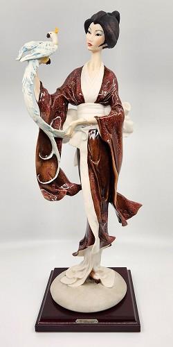 Giuseppe Armani-Turandot - Oriental Lady With Parrot
