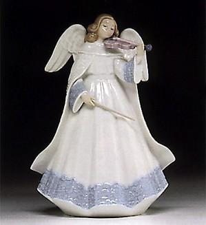 Lladro-Angelic Violinist 1994