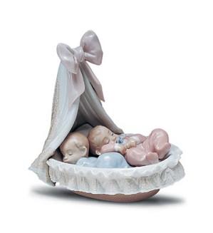 Lladro-Sweet Dream Baby's 1994-01