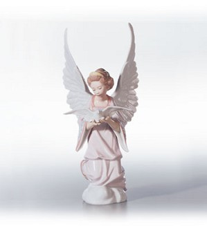 Lladro-Angel Of Peace 1994-2002