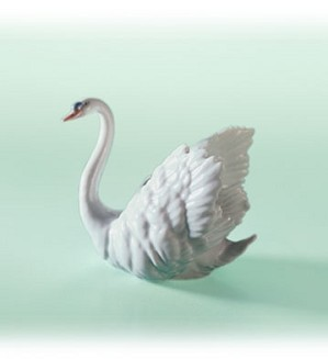 Retired Lladro-White Swan