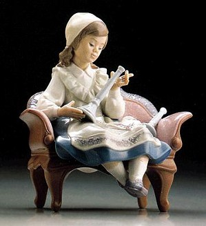 Lladro-Preparing For The Sabbath 1995-99