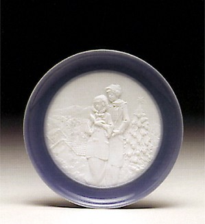 Lladro-Christmas Melodies Plate