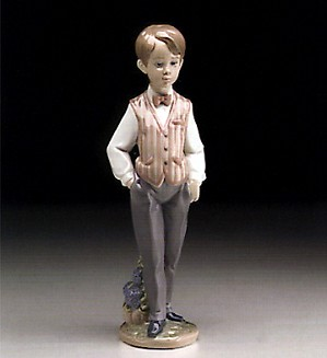 Lladro-European Boy 1995-99