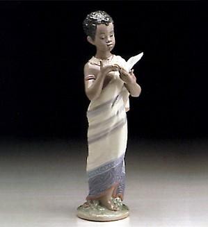 Lladro-African Boy 1995-99