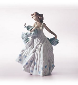 Retired Lladro-Summer Serenade