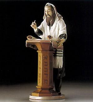 Lladro-Reading The Torah 1995-2000