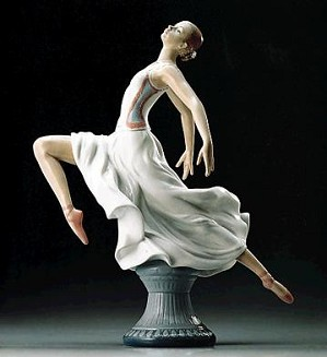 Lladro-Graceful Ballet 1995-98