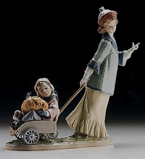 Lladro-Pumpkin Ride 1996-99