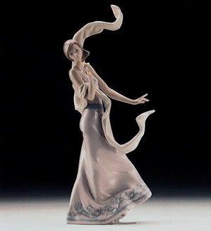 Lladro-Wind Of Peace 1996 Vanguard