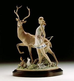 Lladro-Diana, Goddess Of The Hunt 1996-2000