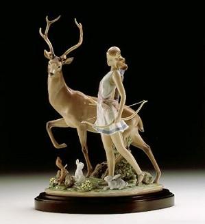 Lladro-Diana, Goddess Of The Hunt 1996-2000