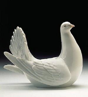 Lladro-Peaceful Dove 1996-99
