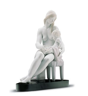 Retired Lladro-Care And Tenderness