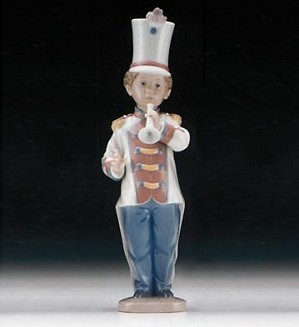 Lladro-Trumpet Player 1996-98