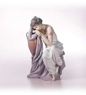 Retired Lladro-Lost In Dreams