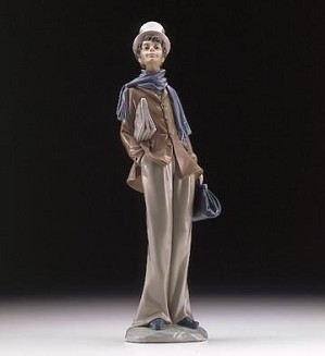 Lladro-Doctor Making House Calls 1996-99