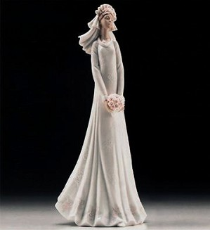 Lladro-Blushing Bride 1996-99