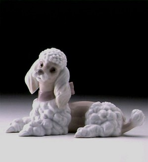 Lladro-Poodle 1997-00