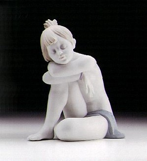 Lladro-I'm Sleepy (white) 1997-00