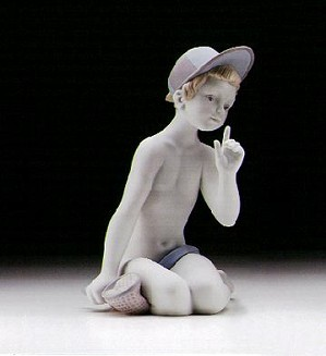 Lladro-Hunting Butterflies (white) 1997-00