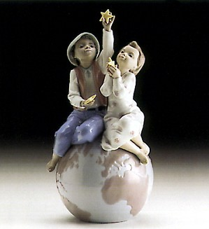 Lladro Black Legacy-A World Of Love