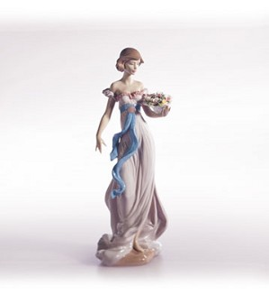 Retired Lladro-Spring Flirtation
