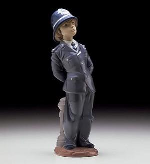Lladro-Little Policeman 1997-00