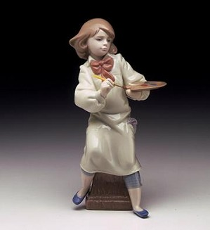 Lladro-Little Artist 1997-00