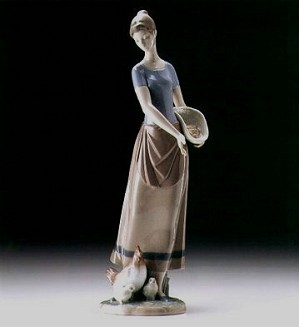 Lladro-Country Chores 1997-00