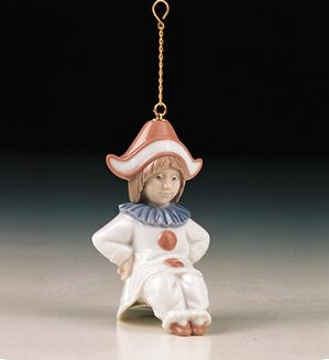 Retired Lladro-Little Harlequin